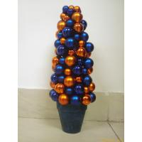 Quality Unusual Xmas Personalised Christmas Gift of 2cm Colorful Balls Decoration wholesale
