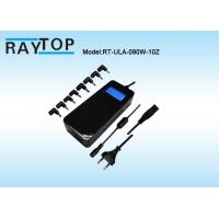 Quality 90W Automatic Universal Laptop Power Adapter Blue LCD Voltage Display 10 Tips wholesale