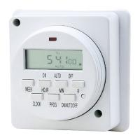 China Wall Mounted Outlet Digital Light Timers 230V , Plug timer Switch For Grow tent on sale