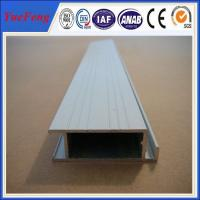 Buy cheap extruded aluminum rail price, aluminium profiles frame with painting(powder from wholesalers