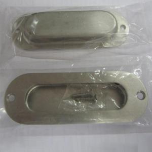 Quality Oblong cup flush pull handle for cabinet/drawer/dresser/wardrobe/furniture/kitchen/door wholesale