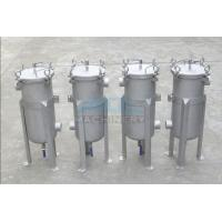 Quality High Quality Stainless Steel Single Bag Water Filter Housing Bag Filter Housing/Cartridge Filter Housing wholesale