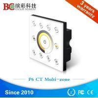 Quality Color temperature touch panel led controller, wall mount dmx 8 channels LED lamp dimmer wholesale