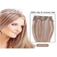"Quality Mixed Colors 10"" 24"" Clip In human Hair Extensions , Grade 7A Single Drawn Human Hair wholesale"