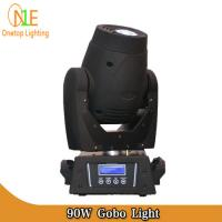 Quality 3-faceted prism fancy gobos stage lighting 90W LED Moving Head Spot Light wholesale