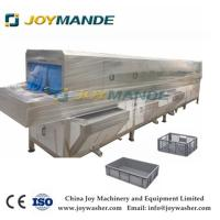 Quality Commercial Use High Efficiency Food Tray Plate Washing Cleaning Machine wholesale