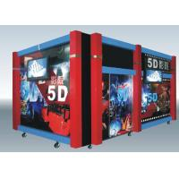 Quality Home Hydraulic / Electric Moiton 5D Theater / 7d Cinema Simulator wholesale