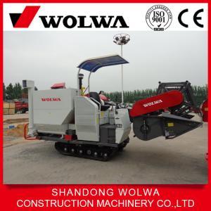 Quality China w4sd-2.0d rice combine harvester crawler type farm usage wholesale
