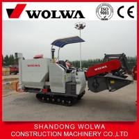 Quality Self-propelled mini combine harvester for rice/wheat with 2.0kg/s feeding capacity wholesale