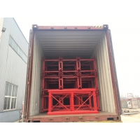 China Low Noise Rack And Pinion 40m/Min Construction Hoist Elevator on sale