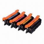 Quality CE250X/CE251A/CE252A/CE253A Color Toner Cartridges Compatible for HP Color LaserJet CP3525/CM3530 wholesale