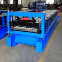 Quality New YX17.5-73-803 Profile  Corrugated  Roofing Panel Roll Forming Machine wholesale