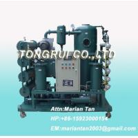Quality ZJA Double-Stage Vacuum Transformer Oil  Purifier, Insulation Oil Recycling Machine wholesale