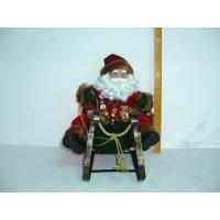 Quality  Santa Claus Driving Sleigh pattern stuffing  Toddler Electronic Toys for kids gifts   wholesale