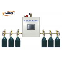 Quality Automatic Medical Gas Manifold PLC Control Brass Gas Type Oxygen wholesale