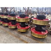 Investment Casting Crane Wheel Assembly , Forged Alloy Wheels For Crane