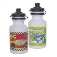 Quality 300ML Sustainable PE / PP Material Plastic Promotional Water Bottles With Logos Printed wholesale