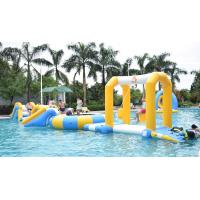 Quality Durable Inflatable Water Sports / Water Park Games For Pool  With TUV Certification wholesale