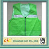 Buy cheap High Visibility Protective Clothing Reflective Safety Jackets , Custom Safety Vests product