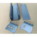 Sand Acid Oxidation Aluminium Enclosures Aluminum Heat Sink 48*148*130 mm for sale