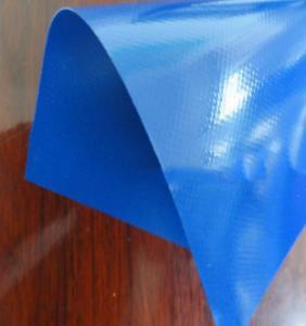 China blue 750gsm PVC heavy duty panama weave tarpaulin,tarpaulin PVC coated fabrics PVDF tent cover with PVDF lacquer,pvc coa on sale