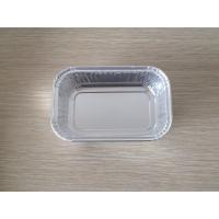 Quality Home recyclable disposable aluminium foil trays for grilling / baking wholesale