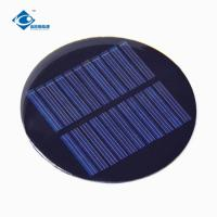 Quality 0.5W High Efficiency PET Solar Panel For Solar Lights ZW-R80 cheapest solar panel photovoltaic for solar energy systems wholesale