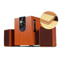 Quality High Performance 2.1 PC Speakers System With Subwoofer Wood Construction wholesale