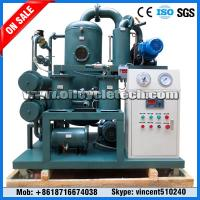 China Skid Mounted Double Stage Vacuum Transformer Oil Purifier Machine for Power Station on sale
