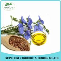 Quality Medicine or Food Use Cold Pressed Flax Seed Oil wholesale