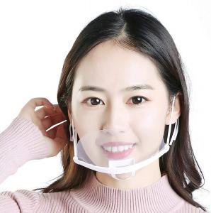 Quality Hygiene Transparent Plastic Mouth Cover For Waitress wholesale
