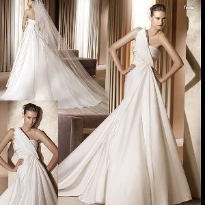 China One-Shoulder Elegant Bridal Dress (111164) on sale