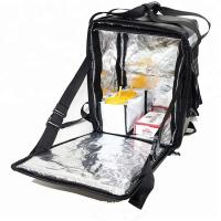 Cheap Fast Food Carrying Insulated Food Delivery Bags Disposable L32 * W23 * H47cm Size for sale