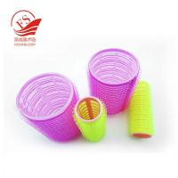 Pink Magic Hair Hook Loop Rollers , Durable PVC / Foam Beauty Hair Clip