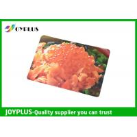 Quality Colorful Printed Dining Table Placemats Anti Slip OEM / ODM Available 45X30CM wholesale