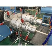China Double Electrical Threading PVC Pipe Production Line 16 - 40mm Pipe Dia on sale