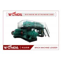 Quality Auto Fired Red Clay Brick Making Machine / Block Making Machine Long Lifespan wholesale
