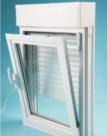 Quality Aluminium Double Glazed Window Combined to Aluminium Roller Shutter wholesale
