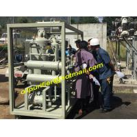 Quality Transformer Oil Purifier Dewatering Degassing,Drying, Online Vacuum Purification Plant,Used Oil Purification Machine wholesale