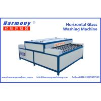 Horizontal Glass Washing Machine for Double Glass Production