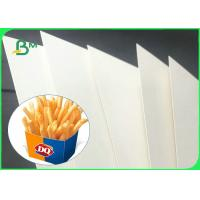 Quality 350gsm + 15g High Stiffness PE Coated GC1 Paper Board For Making Food Boxes wholesale