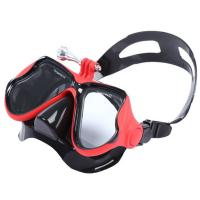 Quality Womens Myopia Snorkel Adult Diving Mask Anti - Fog Silicone Strap Material wholesale