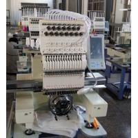 Quality USB Input Single Head Multi Needle Embroidery Machine , Shoes Embroidery Machine Business wholesale