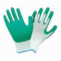 Quality Nitrile-coated Working Safety Gloves with Smooth Finish wholesale