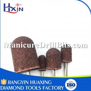 6mm Aluminium Oxide Material Metal Sanding Drill Bit For Nail Heat Resistance
