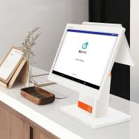 Quality White Color  Dual Touch Screen Point  Computer Pos System For  Clothing Store wholesale