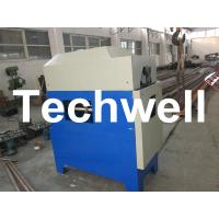 Quality Custom Automatic Downpipe Elbow Machine / Down Pipe Roll Forming Machine wholesale