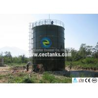 China Glass Fused to Steel steel bolted tanks , 200 000 gallon water tank on sale