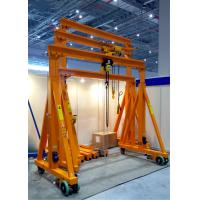 China Lightweight Portable Gantry Crane Small Boat Lifting Wireless Remote Control on sale