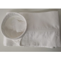 China Cement Plant 5 Micron 550gsm Woven PTFE Filter Bag on sale